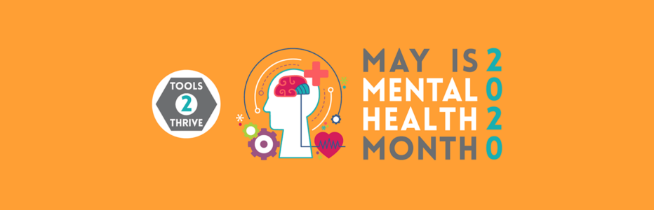 may is mental health month banner