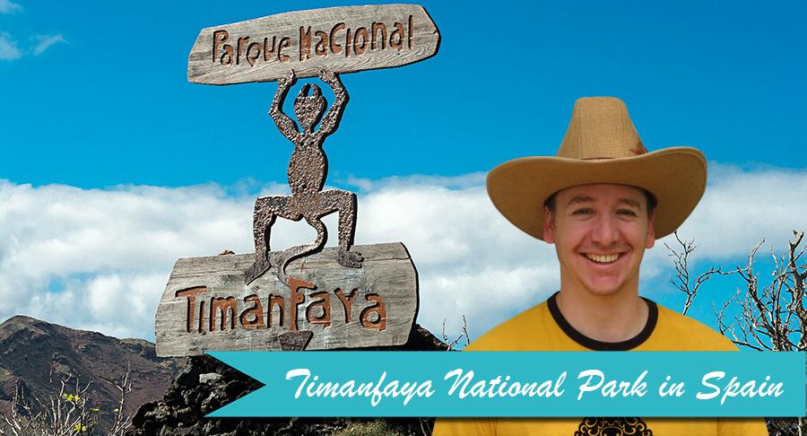 Ben at Timanfaya national park in Spain