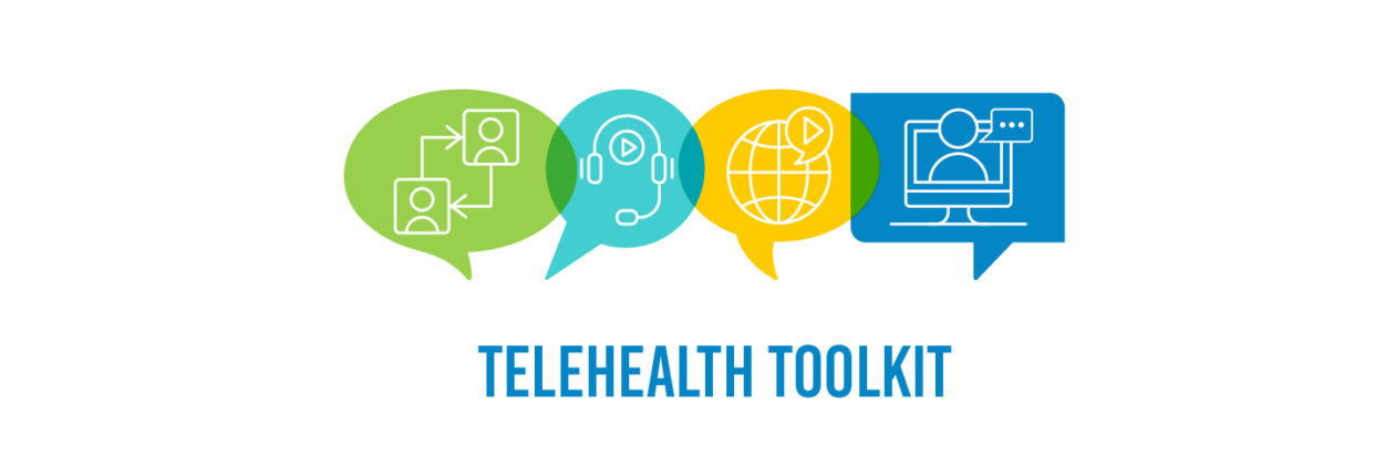 communication, telecommunication, internet and a desktop computer - telehealth toolkit