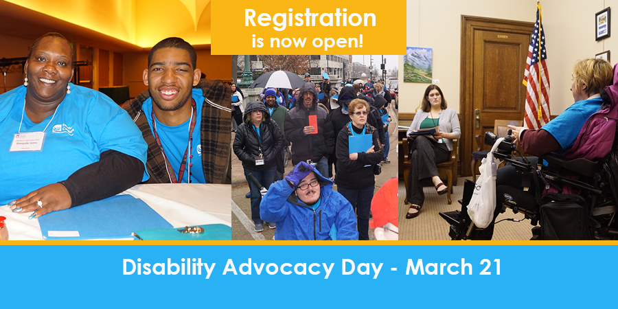 Disability Advocacy Day - March 21, 2017